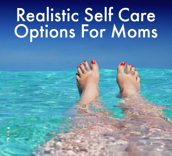 Realistic self care options for moms: Take the Hyland's 5-Day Stress Challenge!