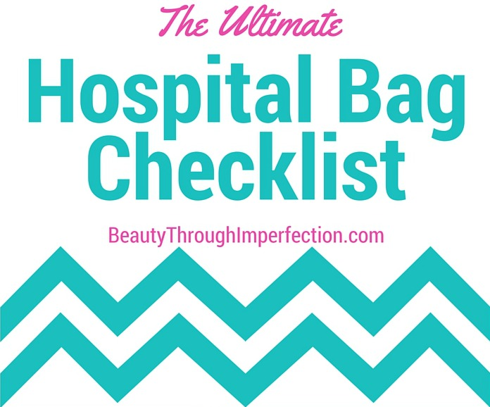 the ultimate hospital bag checklist