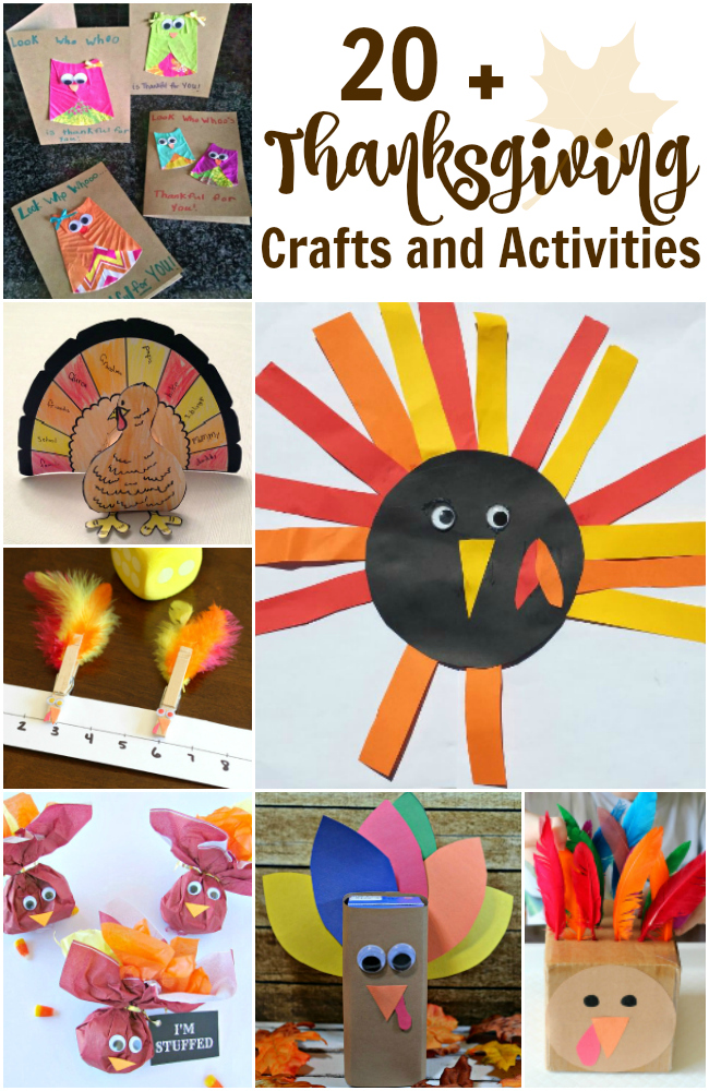Thanksgiving Activities and Printables for Kids