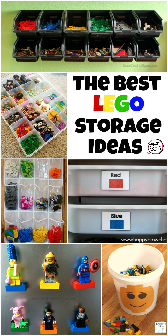 The Best Lego Storage Ideas 650 X 1301