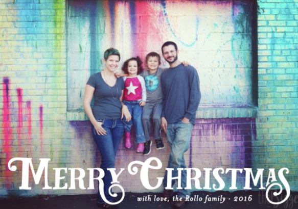Christmas cards, street murals and a GIVEAWAY