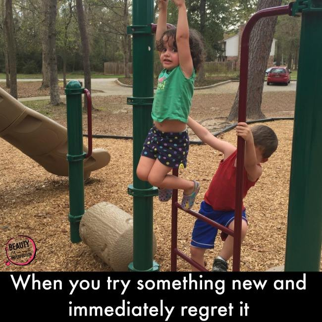 Sometimes kids are braver than we want them to be