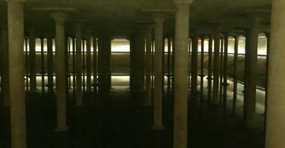 water-cistern