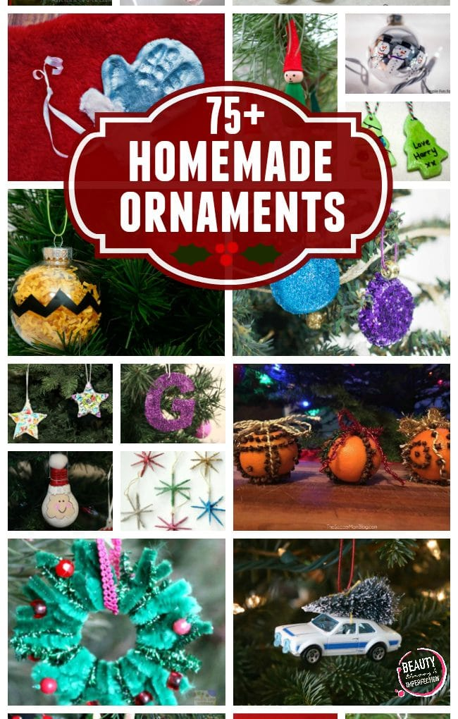 80+ DIY ornaments kids can make