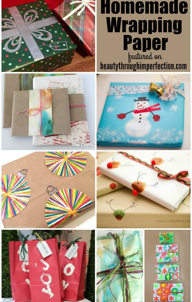 DIY wrapping paper ideas
