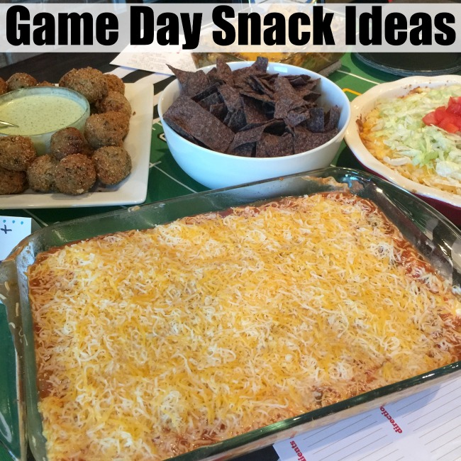 game-day-snack-ideas