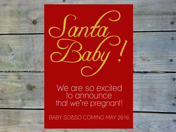 santa-baby-pregnancy-announcement