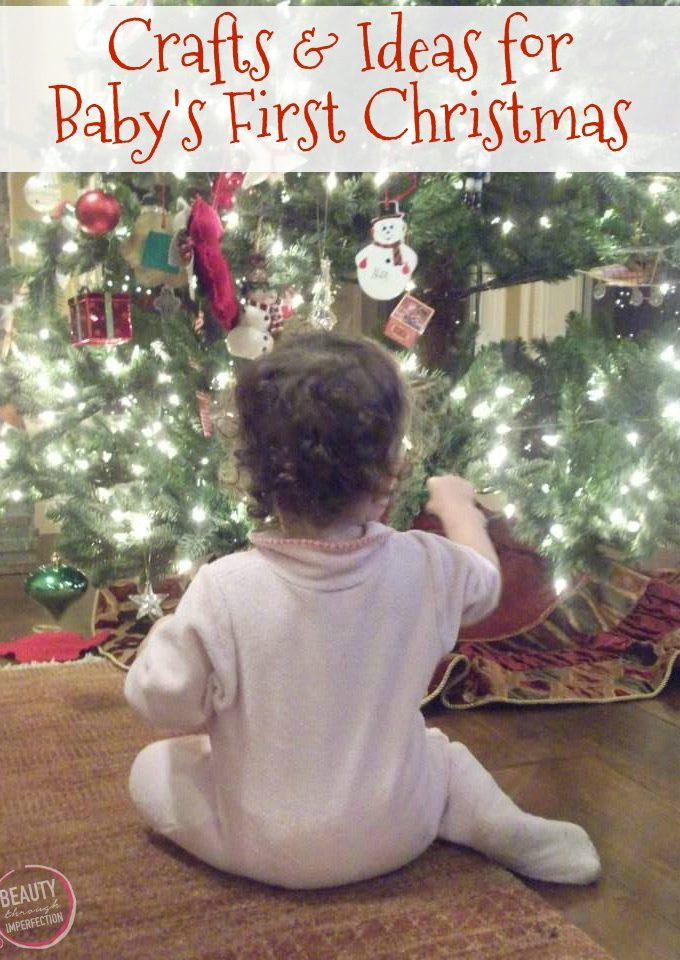 Don't miss these crafts on baby's first Christmas