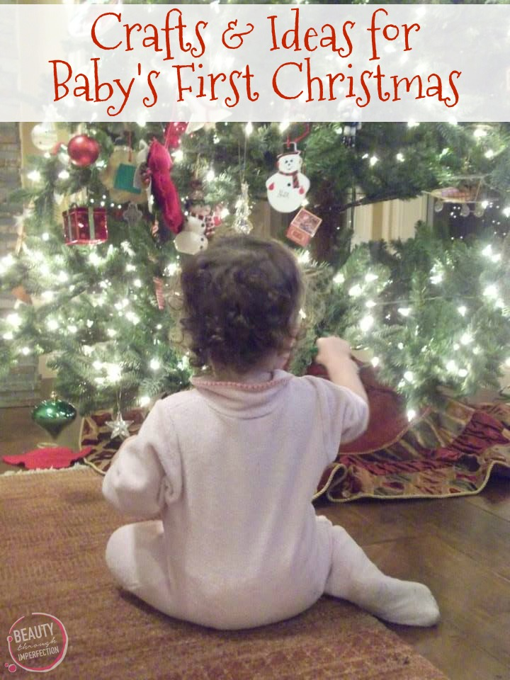 Baby First Christmas Craft Ideas Part - 17: Another Fun First Christmas Craft Idea Is To Take Baby To A Pottery  Painting Store And Do Footprint Crafts. You Can Make Plates, Or Mugs To  Keep Forever Or ...