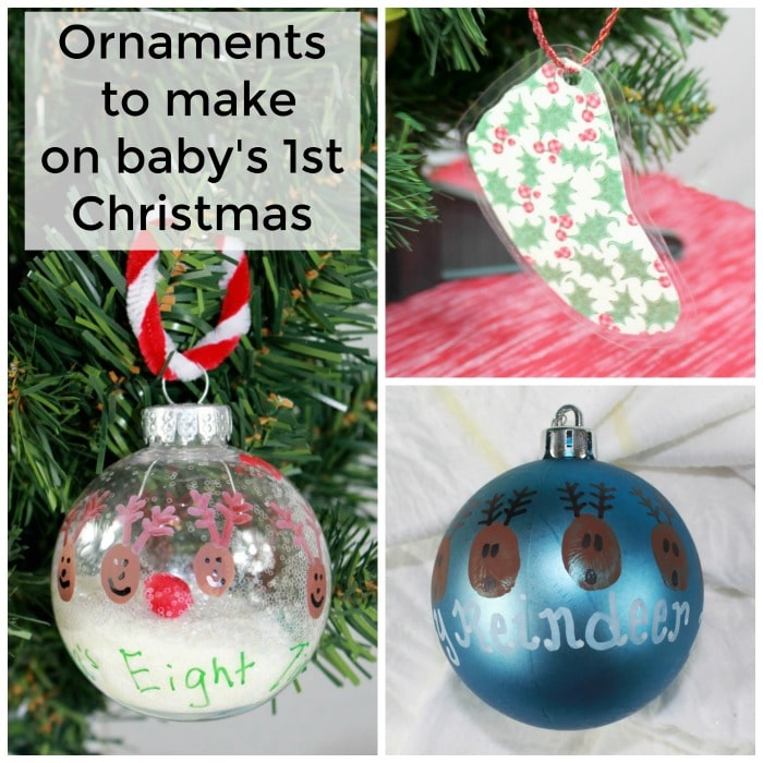 Don T Miss These Crafts On Baby S First Christmas Beauty Through Imperfection