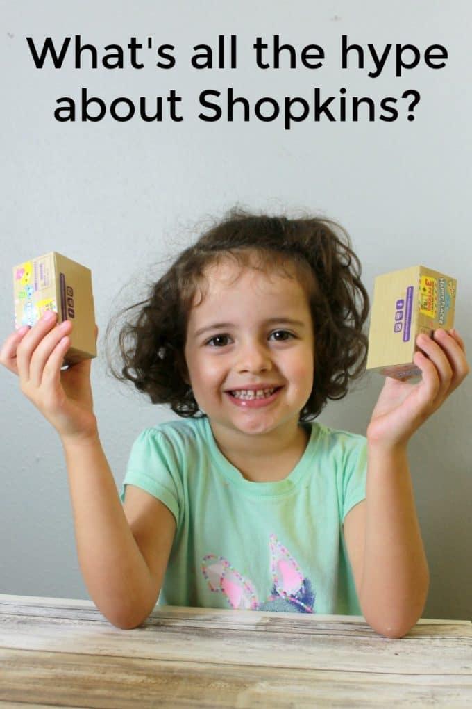 Creative play for girls {we love shopkins}