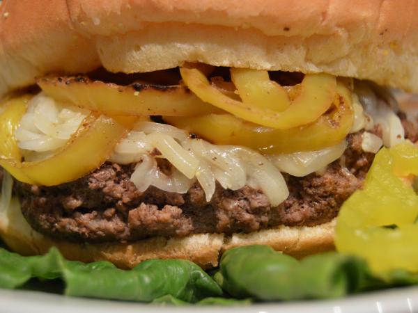 Blackened Cajun Burger Recipe Idea
