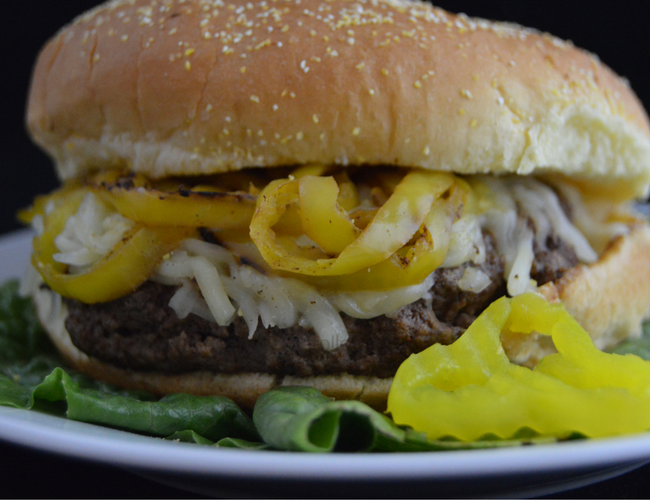 Blackened Cajun Burger with Cheese Recipe