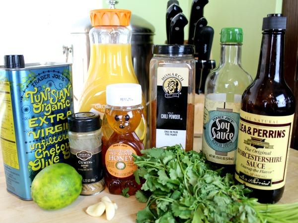 Ingredients for Crock Pot Carne Asads