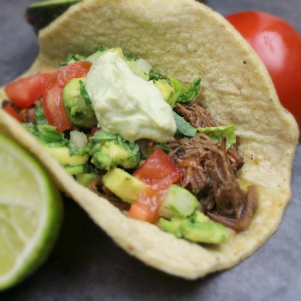 Crock Pot Carne Asada Street Tacos