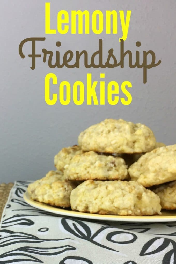 Lemon Friendship Cookies