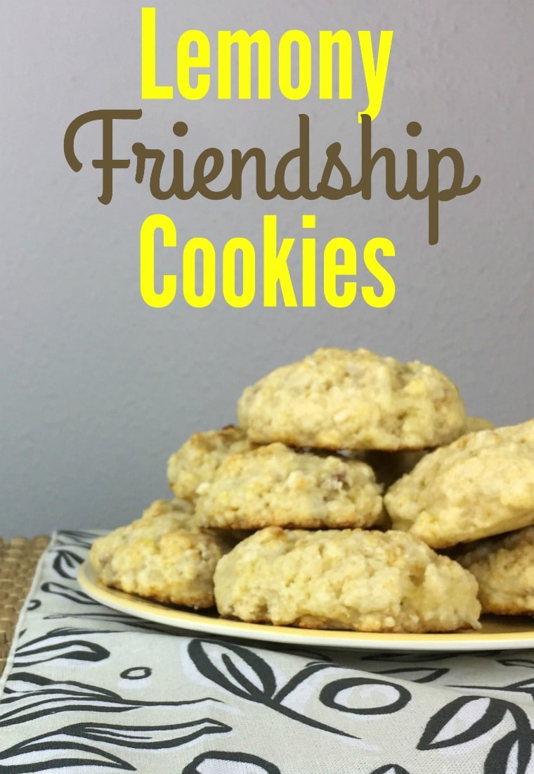 Recipe for delicious Lemon cookies - Lemony Friendship Cookies