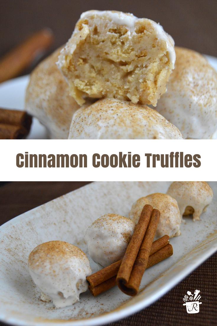 Cinnamon Cookie Truffles Dessert