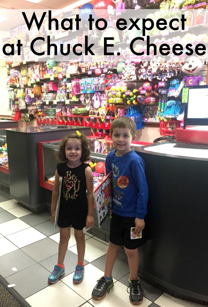 An after school trip to Chuck E. Cheese's
