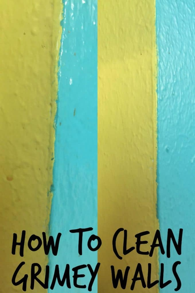 How to remove the layer of grime kids leave all over the house