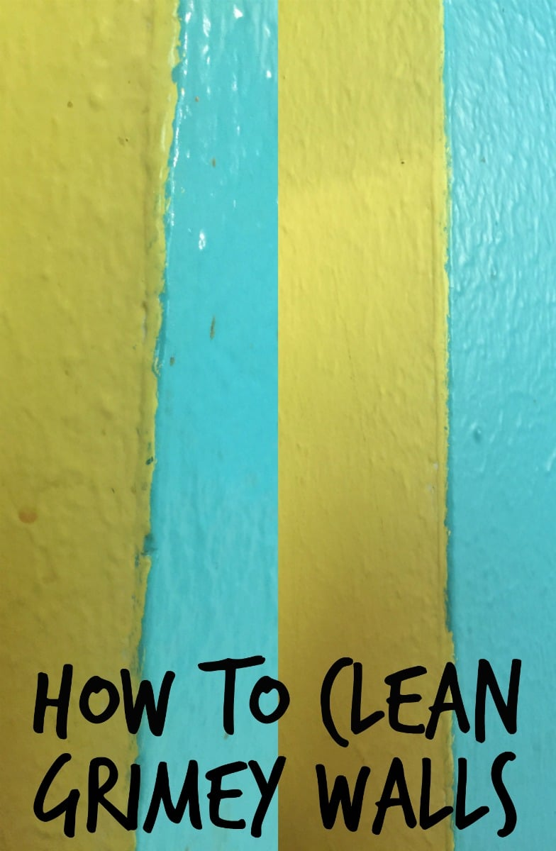 How to remove the layer of grime kids leave all over the house ...