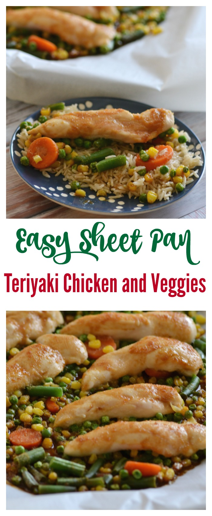 Easy Sheet Pan Teriyaki Chicken and Veggies