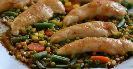 Easy Sheet Pan Teriyaki Chicken and Veggies