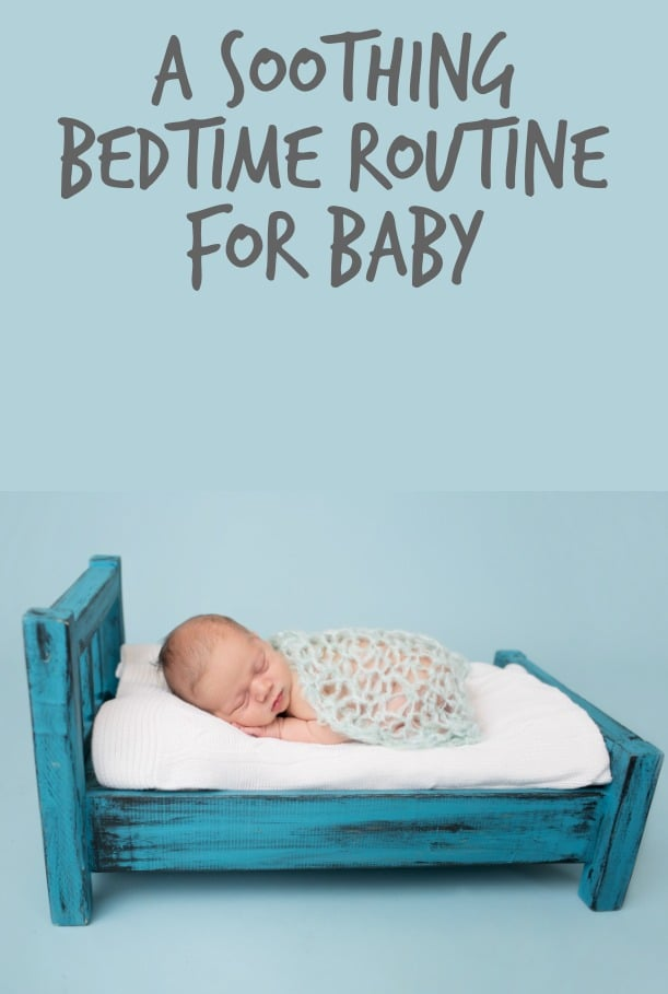 A soothing bedtime for baby