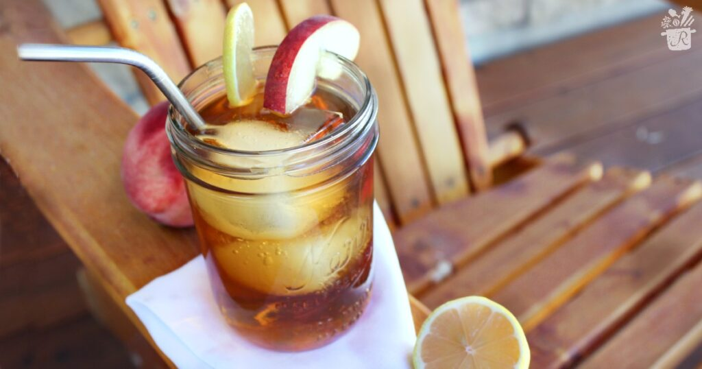 Hard Peach Iced Tea