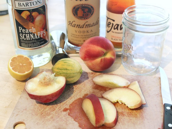 Hard Peach Iced Tea Ingredients