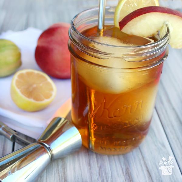 Hard Peach Iced Tea