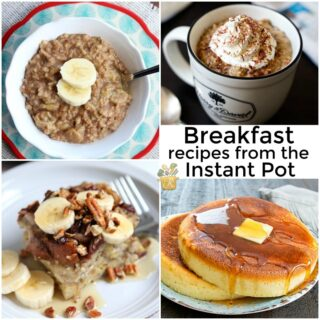 Breakfast recipes for the instant pot