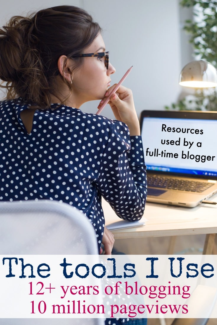 Best blogging resources - the tools this blogger uses after 12 years and over 10 million pageviews.
