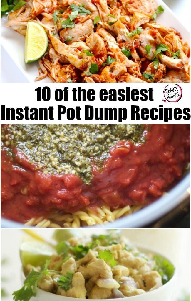 10 recipes you can just dump in the instant pot