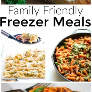 Freezer meals for families