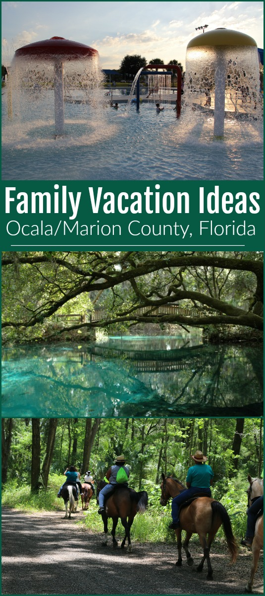Favorite family destination in Ocala/Marion County, Florida #ad #familyvacation #ocalamarion