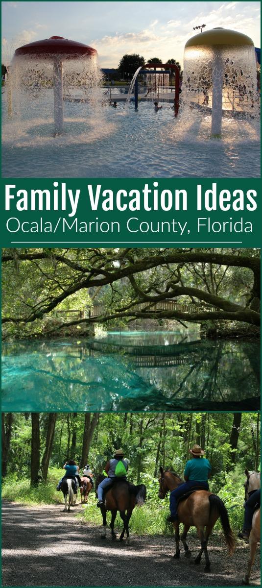 Favorite family destination in Ocala/Marion County, Florida #ad #familyvacation #ocalamarion