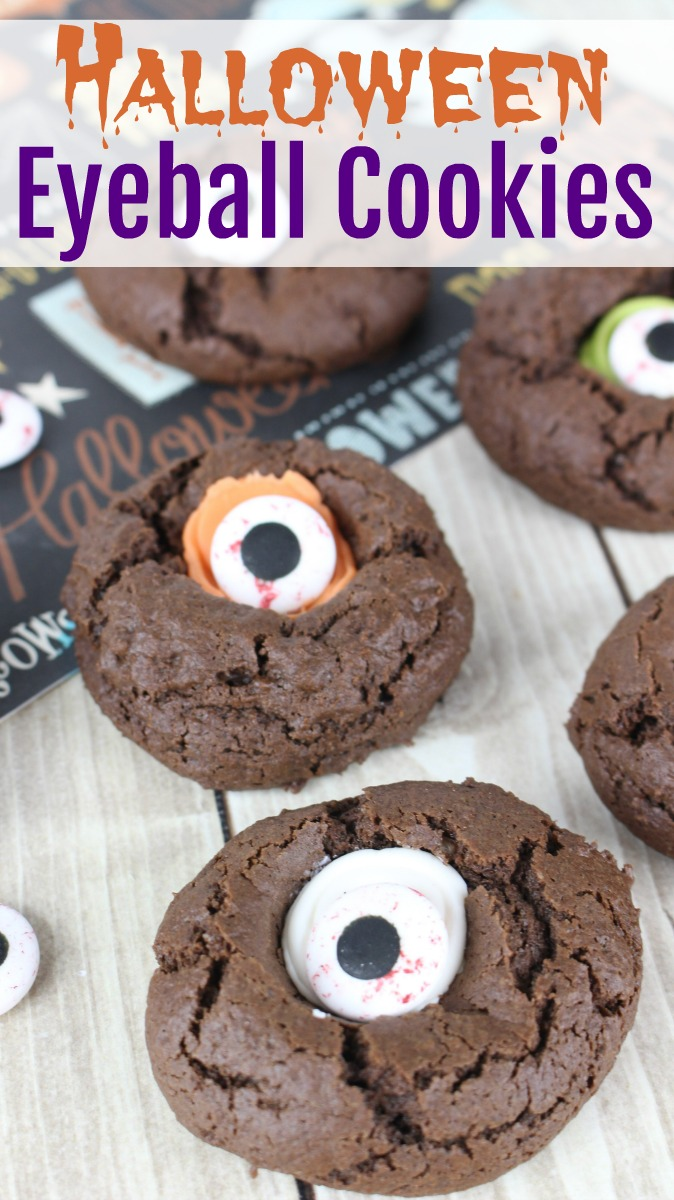 "Halloween Thumbprint ""Eyeball"" Cookies - Beauty Through ..."