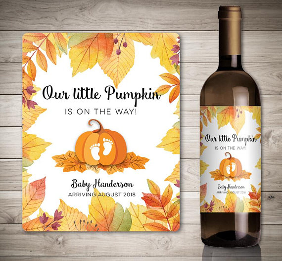 Thanksgiving Pregnancy Announcement Ideas