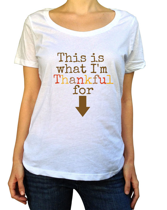 Fun ways to announce your pregnancy on Thanksgiving Beauty – T Shirt Baby Announcement