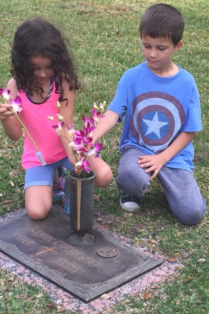 Helping kids remember a deceased grandparent