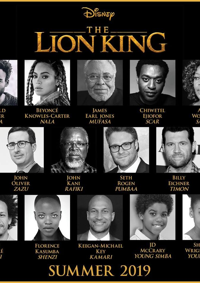 The Lion King Cast is here and AMAZING