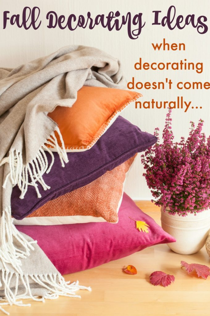 Easy Decorating Solutions – When It Doesn't Come Naturally