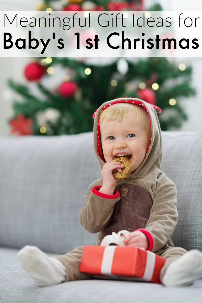 here are some of the best gift ideas for babys first christmas ranging from the practical to the sentimental
