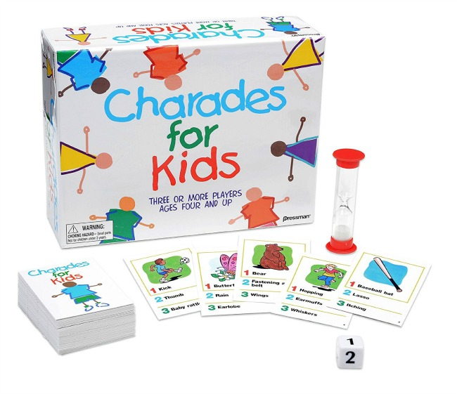 charades for age 5 and up