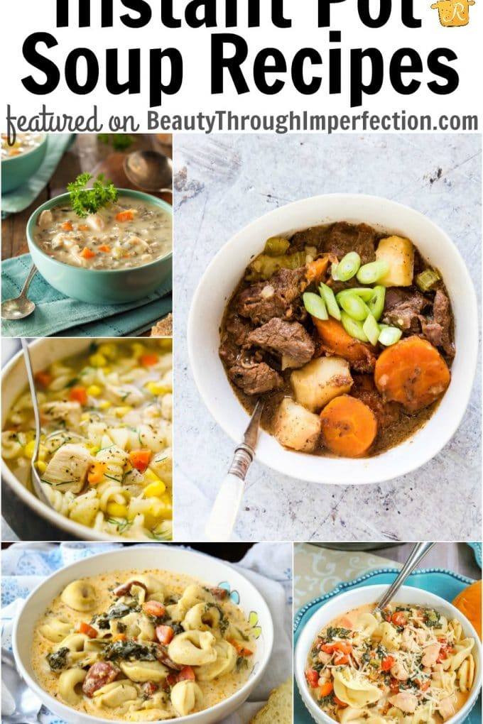 25+ Instant Pot Soup Recipes