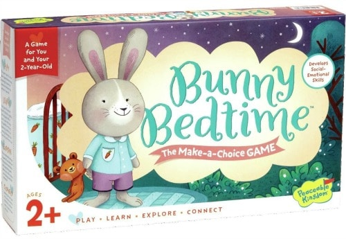 bunny board game for 2 year olds