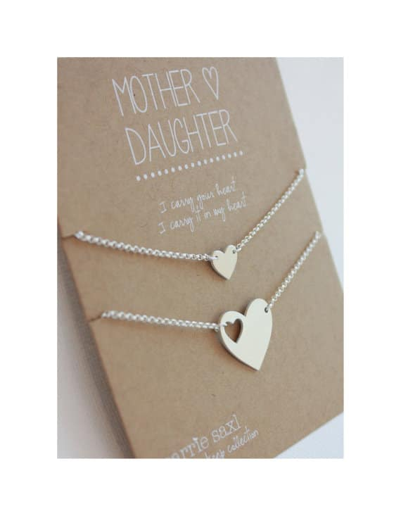 Mother Daughter Carry You In My Heart Bracelets