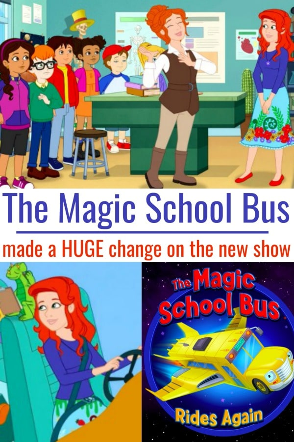 Netflix quietly made a huge change to this Magic School Bus character