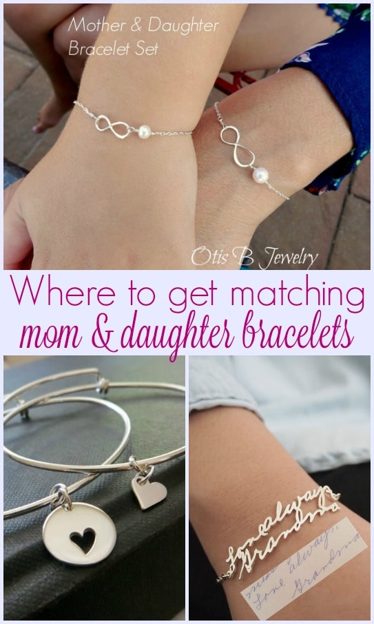 Where to get matching mother daughter bracelets